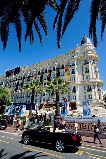 Cannes, Croisette, Alpes-MAritimes, 06, PACA, French Riviera, Cote d´Azur, France, Europe : Stock Photo