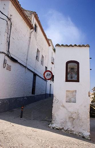 CALLE DE BAEZA, JAEN, ANDALUCIA : Stock Photo