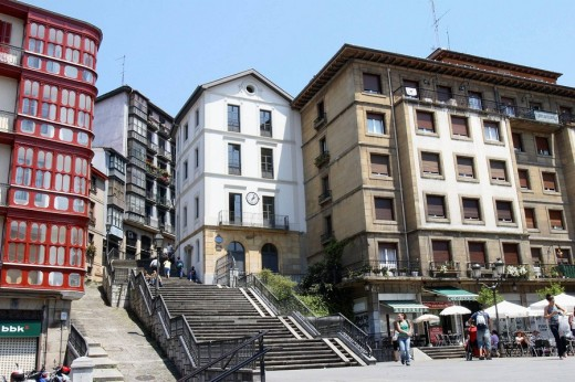 Plaza Unamuno, Bilbao. Biscay, Basque Country, Spain : Stock Photo