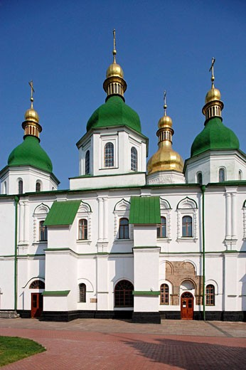 Stock Photo: 1566-479290 St Sophia Monastery,St Sophia Cathedral,Kiev,Ukraine