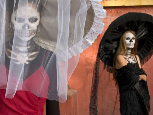 Stock Photo: 1566-481426 Catrinas, Day of the Dead