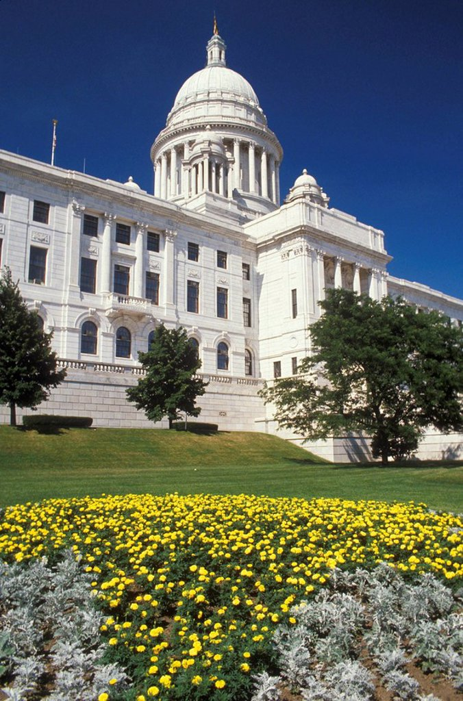 Stock Photo: 1566-482589 Rhode Island State Capitol Building Providence U S