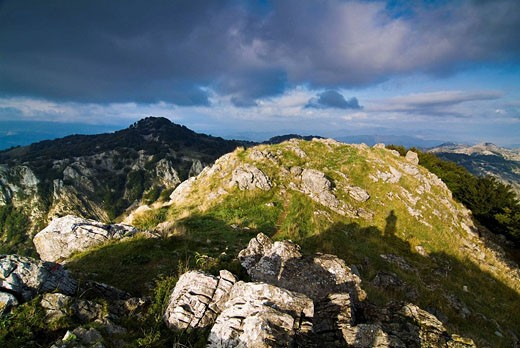 Stock Photo: 1566-483907 Views from Mount Mugarra, Urkiola Natural Park, Vizcaya, Spain