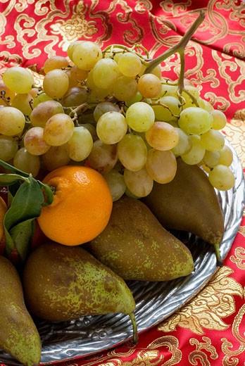 Bodegon con frutas : Stock Photo