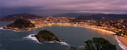 Donostia, Gipuzkoa, Basque Country, Spain : Stock Photo