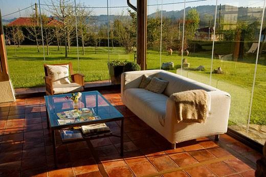 Stock Photo: 1566-489845 La Ermita de Deva rural hotel. Asturias, Spain
