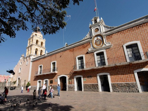 Ayuntamiento de Atlixco, México : Stock Photo