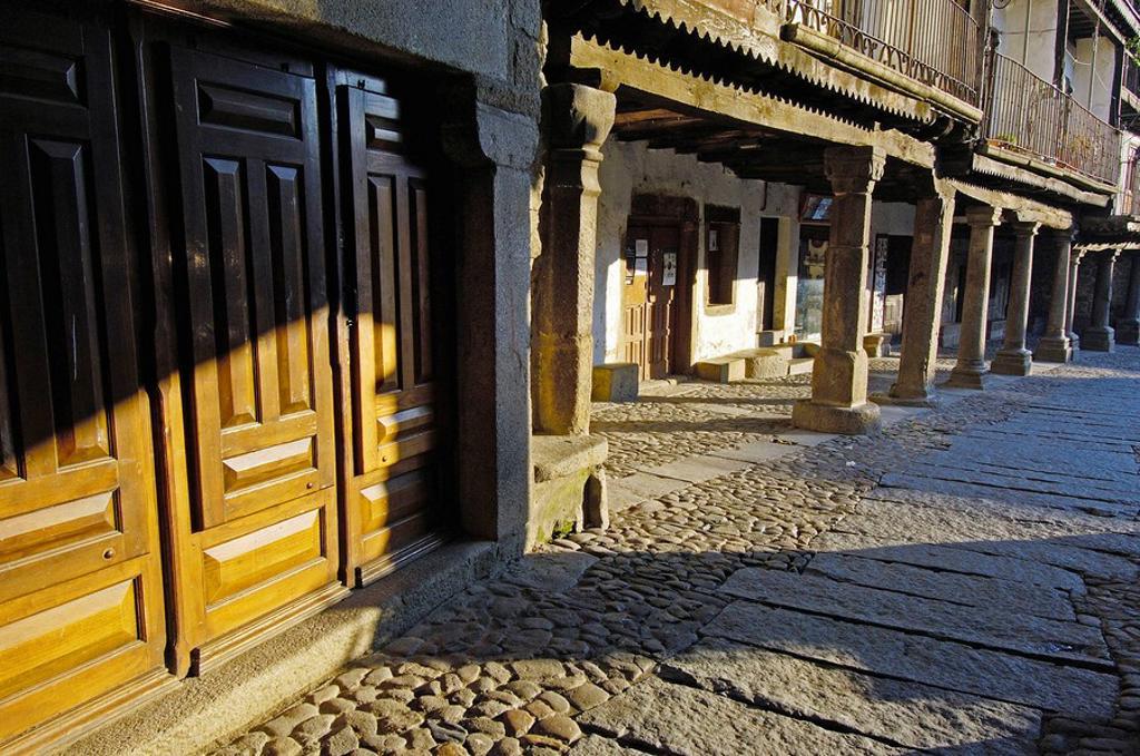 La Alberca Las Batuecas-Sierra de Francia Natural Park, Salamanca province, Spain : Stock Photo