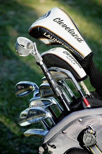Golf clubs : Stock Photo