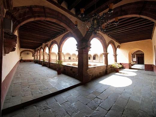 Stock Photo: 1566-493126 Convento de San Bernardino. Xochimilco. Ciudad de Mexico