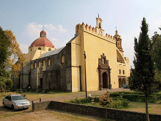 Stock Photo: 1566-493129 Convento de San Bernardino. Xochimilco. Ciudad de Mexico