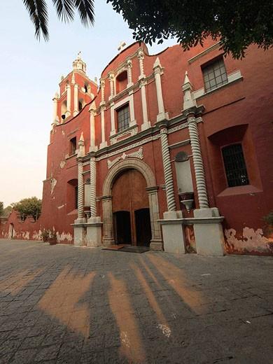 Stock Photo: 1566-493242 Convento de San Agustín. Tlalpan. Ciudad de México.