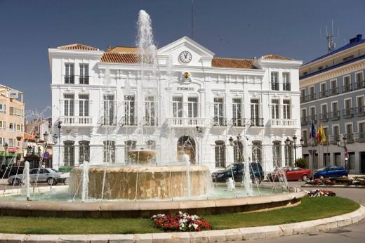 Ayuntamiento Tomelloso, provincia de Ciudad Real, Castilla la Mancha, Spain : Stock Photo