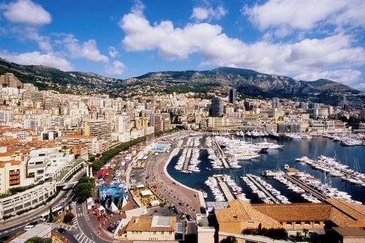 Monaco, Monte Carlo, Principaute de Monaco, French Riviera, Cote d´azur, Europe : Stock Photo