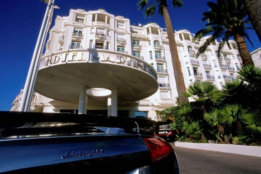 Cannes Croisette Alpes-Maritimes 06 PACA France French Riviera Cote d´Azur Europe : Stock Photo