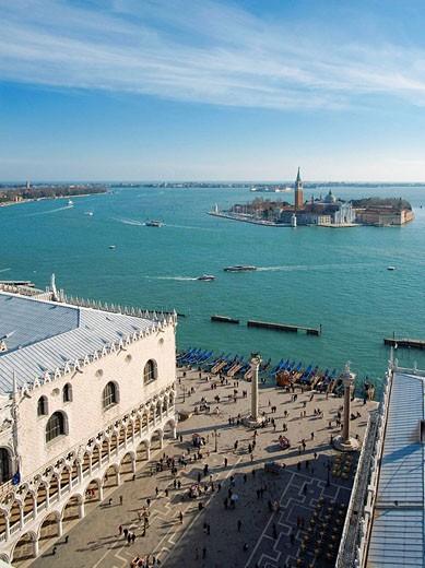 Stock Photo: 1566-494433 Mark´s Square, Venice Italy