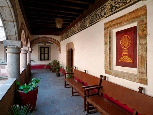 Stock Photo: 1566-494888 Convento de Corpus Chisti, norte de Ciudad de México.