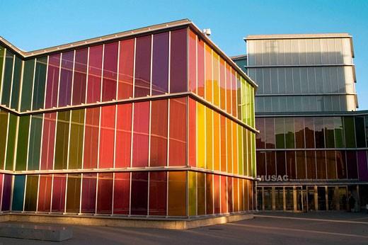 MUSAC (Museum of Contemporary Art of Castile and Leon), Leon. Castilla-Leon, Spain : Stock Photo