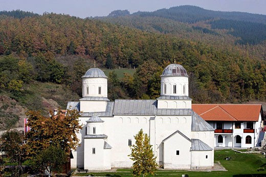 Stock Photo: 1566-495791 Milesheva Monastery of Ascension of the Lord , 1234-1235,Serbia