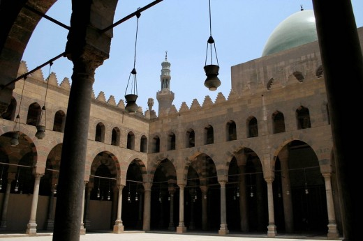 Stock Photo: 1566-496194 Naser Mohammed Mosque Cairo, Egypt