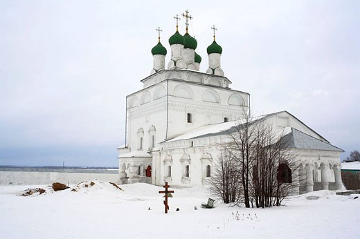 Church of the Epiphany (17th century), Mstera, Vladimir Oblast, Russia : Stock Photo