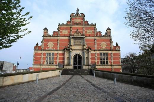 Stock exchange (1625-1640), Copenhagen, Denmark : Stock Photo