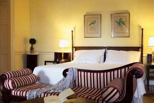 Stock Photo: 1566-496795 Bahamas, New Providence Island, Nassau Graycliff Hotel Suite