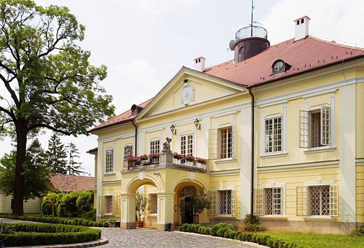 Hungary Trasdanubio Palace-Hotel Sziona : Stock Photo