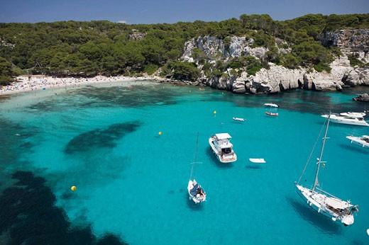 Cala Macarella, Menorca, Spain : Stock Photo