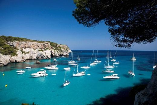 Stock Photo: 1566-499447 Cala Macarella, Menorca, Spain