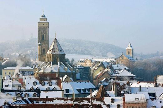 Stock Photo: 1566-499756 Obere Pfarre-Karmelitenkirche-Altenburg-Bamberg