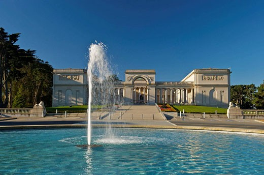 Stock Photo: 1566-500540 California Palace of the Legion of Honor, San Francisco, California, USA