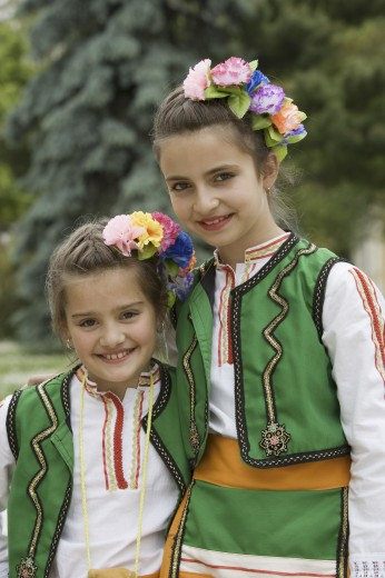 Stock Photo: 1566-501229 Folklore Festival. Vratsa. Bulgaria.