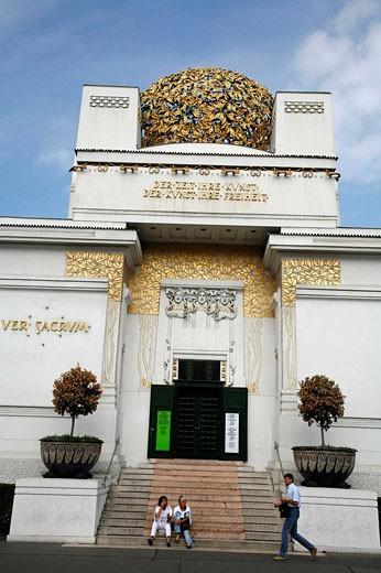 The Secession Building Art Museum, Vienna, Austria : Stock Photo