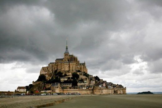 Stock Photo: 1566-503640 Mont St  Michel, Normandy, France