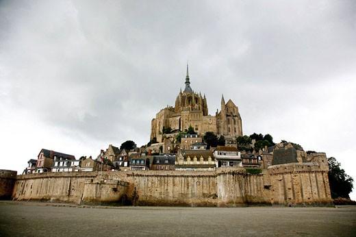 Mont St  Michel, Normandy, France : Stock Photo