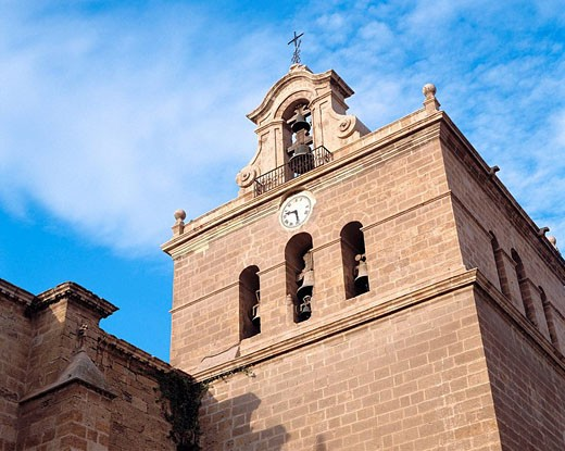 Stock Photo: 1566-506643 Belfry of cathedral, Almeria. Andalucia, Spain