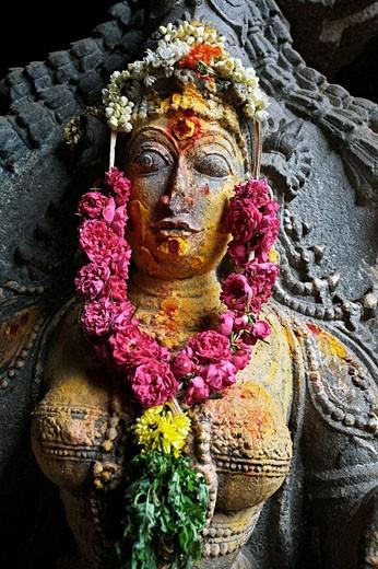 Stock Photo: 1566-508107 Market, Madurai. Tamil Nadu, India