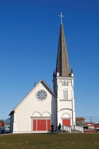 Church, Nome. Seward Peninsula, Alaska, USA : Stock Photo
