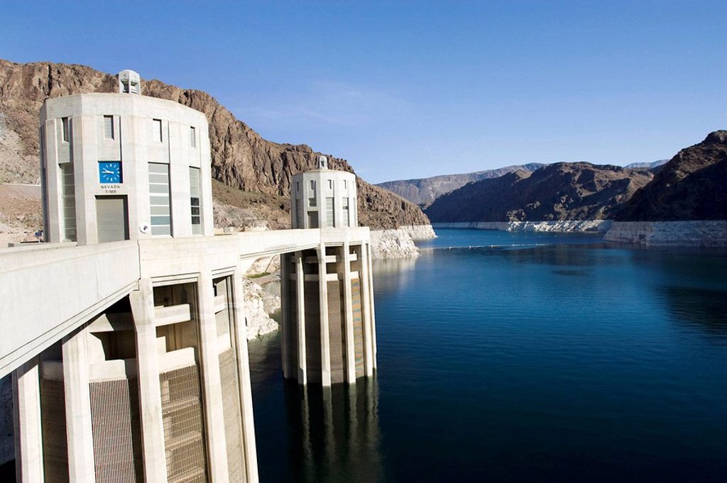 Stock Photo: 1566-509540 Hoover Dam, Arizona, USA