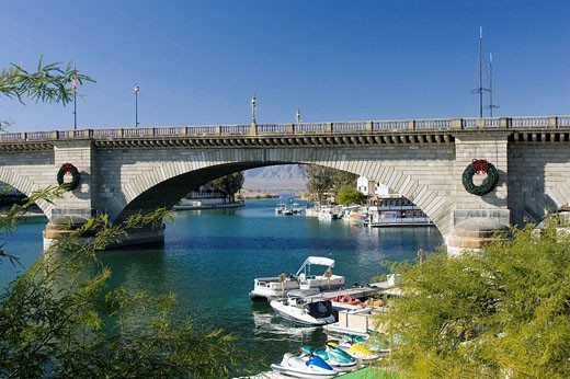 Stock Photo: 1566-509545 London Bridge, Lake Havasu, Arizona, USA