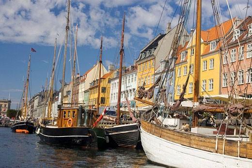 Nyhavn, Copenhagen, Denmark : Stock Photo