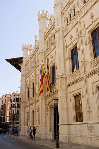 Town Hall, Palma de Mallorca, Balearic Islands, Spain : Stock Photo