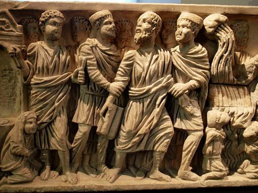Stock Photo: 1566-511959 Reliefs. Museo Arqueológico Nacional. Madrid. España