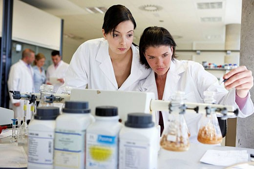 Physical Chemical Laboratory, Azti-Tecnalia, Marine and Food Research Technological Centre, Derio, Biscay, Basque Country, Spain : Stock Photo