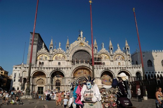 Stock Photo: 1566-512707 St Mark´s Basilica, Venice, Veneto, Italy