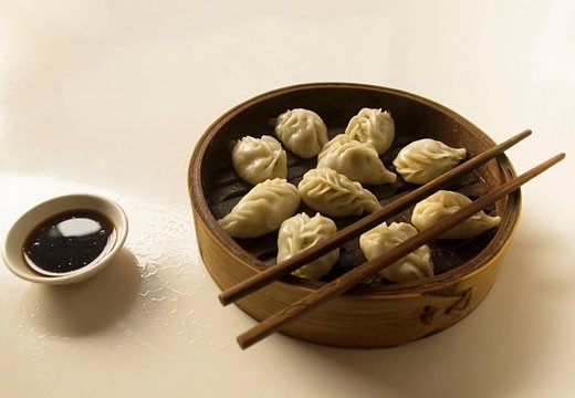 Stock Photo: 1566-514703 dumplings in Jianshui town in Yunnan China