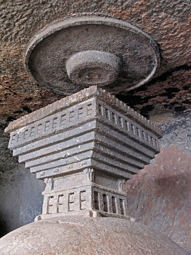 Stock Photo: 1566-514768 Buddhist Bhaje caves are 1000 years old  Bhaje, Maharashtra, India