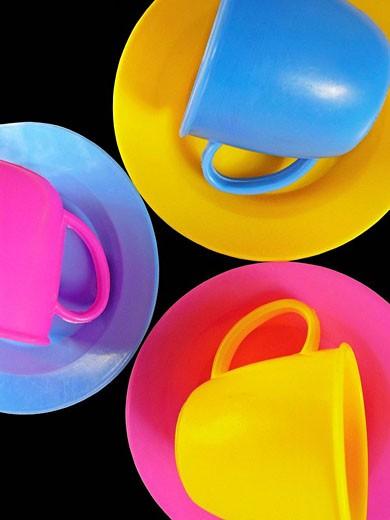 Toy tea Set : Stock Photo