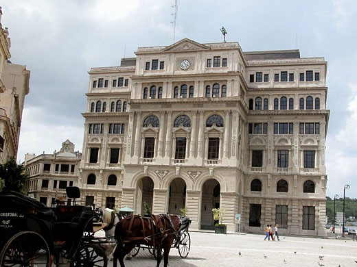Lonja de Comercio (Commerce Exchange building). La Habana. Cuba : Stock Photo